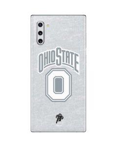 OSU Ohio State Faded Galaxy Note 10 Skin