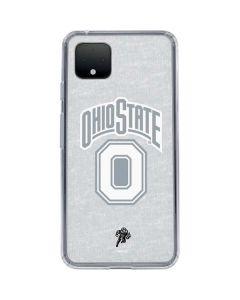 OSU Ohio State Faded Google Pixel 4 Clear Case