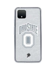 OSU Ohio State Faded Google Pixel 4 Clear Case