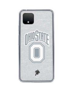 OSU Ohio State Faded Google Pixel 4 XL Clear Case