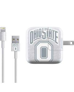 OSU Ohio State Faded iPad Charger (10W USB) Skin