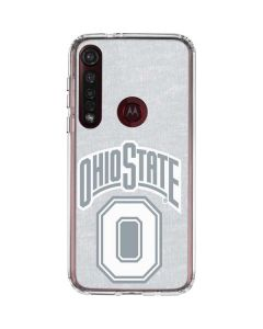 OSU Ohio State Faded Moto G8 Plus Clear Case