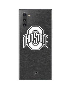 OSU Ohio State Grey Galaxy Note 10 Skin