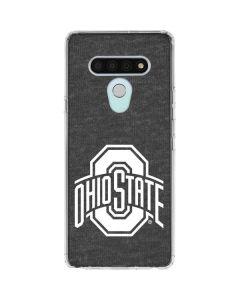 OSU Ohio State Grey LG Stylo 6 Clear Case