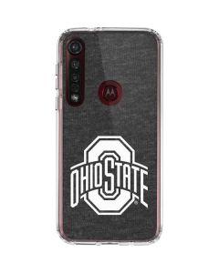 OSU Ohio State Grey Moto G8 Plus Clear Case