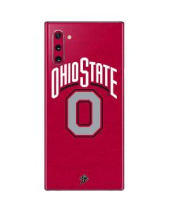 OSU Ohio State O Galaxy Note 10 Skin
