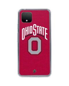 OSU Ohio State O Google Pixel 4 Clear Case