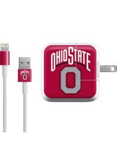 OSU Ohio State O iPad Charger (10W USB) Skin