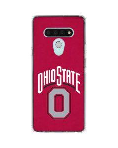 OSU Ohio State O LG Stylo 6 Clear Case