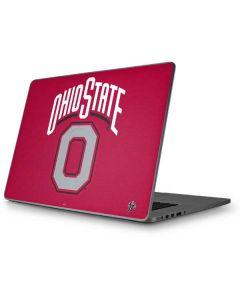 OSU Ohio State O Apple MacBook Pro 17-inch Skin