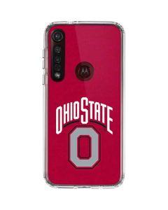 OSU Ohio State O Moto G8 Plus Clear Case