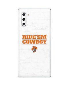 OSU Oklahoma Ride Em Cowboy Galaxy Note 10 Skin