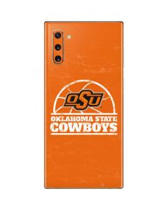 OSU Oklahoma State Cowboys Orange Galaxy Note 10 Skin