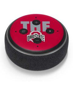 OSU The Ohio State Buckeyes Amazon Echo Dot Skin