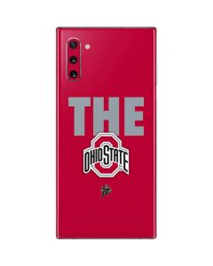 OSU The Ohio State Buckeyes Galaxy Note 10 Skin