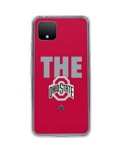 OSU The Ohio State Buckeyes Google Pixel 4 XL Clear Case