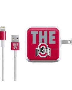 OSU The Ohio State Buckeyes iPad Charger (10W USB) Skin