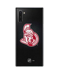 Ottawa Senators Black Background Galaxy Note 10 Skin