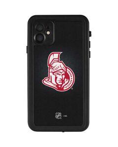 Ottawa Senators Black Background iPhone 11 Waterproof Case