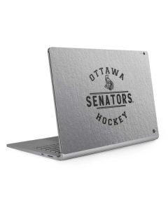 Ottawa Senators Black Text Surface Book 2 15in Skin