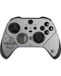 Ottawa Senators Black Text Xbox Elite Wireless Controller Series 2 Skin