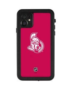 Ottawa Senators Color Pop iPhone 11 Waterproof Case