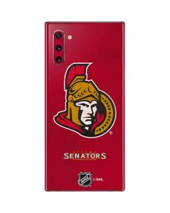 Ottawa Senators Distressed Galaxy Note 10 Skin