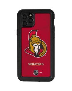 Ottawa Senators Distressed iPhone 11 Pro Max Waterproof Case