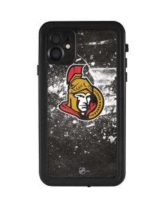 Ottawa Senators Frozen iPhone 11 Waterproof Case