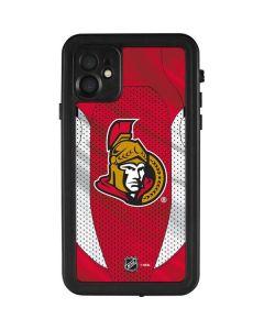 Ottawa Senators Home Jersey iPhone 11 Waterproof Case