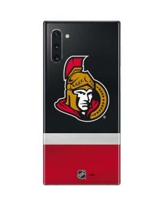 Ottawa Senators Jersey Galaxy Note 10 Skin