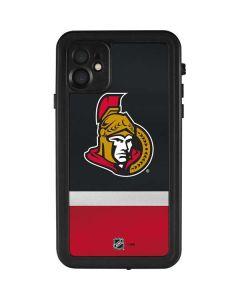 Ottawa Senators Jersey iPhone 11 Waterproof Case