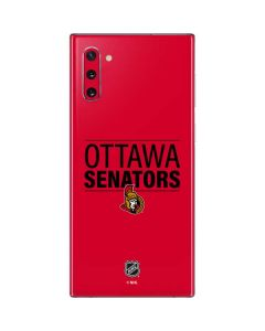 Ottawa Senators Lineup Galaxy Note 10 Skin