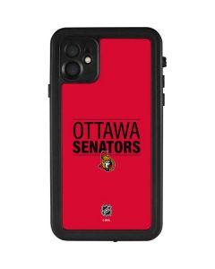 Ottawa Senators Lineup iPhone 11 Waterproof Case