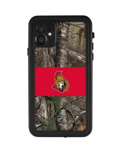 Ottawa Senators Realtree Xtra Camo iPhone 11 Waterproof Case