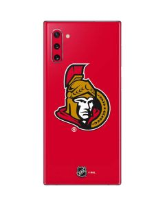 Ottawa Senators Solid Background Galaxy Note 10 Skin