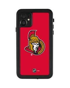 Ottawa Senators Solid Background iPhone 11 Waterproof Case