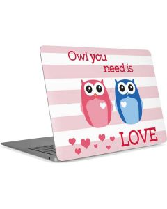 Owl Is All You Need Apple MacBook Air Skin