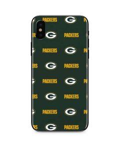 Green Bay Packers Blitz Series iPhone XS Max Skin