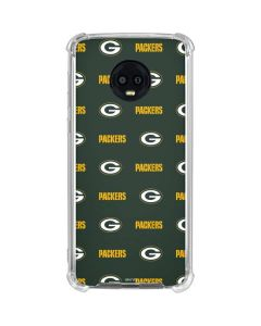 Green Bay Packers Blitz Series Moto G6 Clear Case