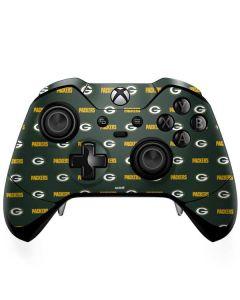 Green Bay Packers Blitz Series Xbox One Elite Controller Skin