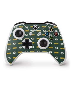 Green Bay Packers Blitz Series Xbox One S Controller Skin