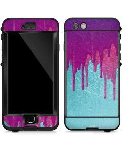 Paint Splatter Purple LifeProof Nuud iPhone Skin