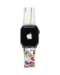 Painted Flowers Apple Watch Band 38-40mm