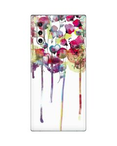 Painted Flowers Galaxy Note 10 Skin