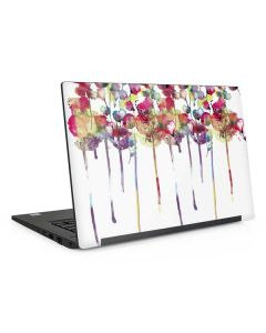 Painted Flowers Dell Latitude Skin