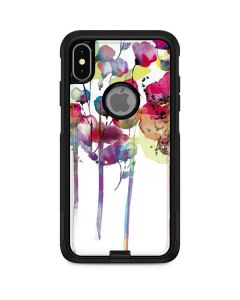 Painted Flowers Otterbox Commuter iPhone Skin
