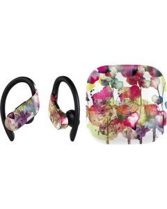 Painted Flowers PowerBeats Pro Skin