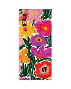 Painterly Garden Galaxy Note 10 Skin