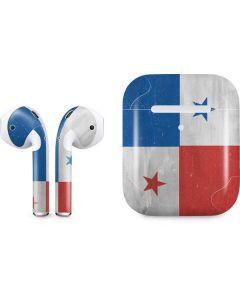 Panama Flag Distressed Apple AirPods 2 Skin